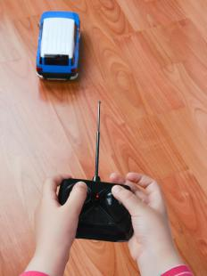 The hand held control is the most important aspect of an RC car.