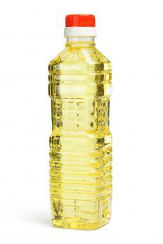 Peanut oil.