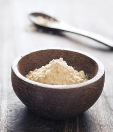 Besan is used to make batata vada.