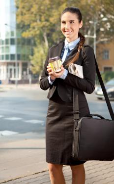 A personal assistant who takes note of an employer's usual beverage order is paying attention to detail in order to keep the employer's day running smoothly.