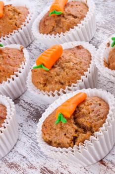 Using removable baking cups helps reduce clean up when making mini muffins.