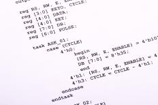 A computer programming algorithm.