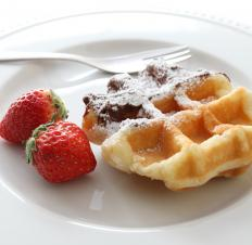 Belgian waffles.