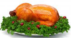 A roast turkey.