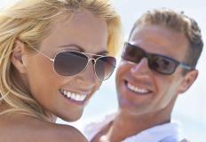 Prescription sunglasses come in a variety of styles.