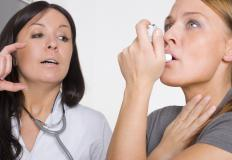 Lung problems, such as asthma, may cause cyanosis.