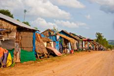 Slums are not recognized as a proper type of housing.