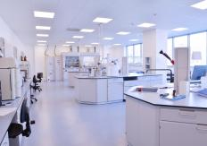Scientific laboratories may benefit from having sealed concrete floors.