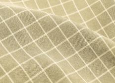 Fabric made with bamboo yarn.