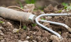 A hand cultivator may be used by gardeners to work the soil.