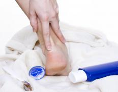 Foot lotions tend to be thicker than other lotions.
