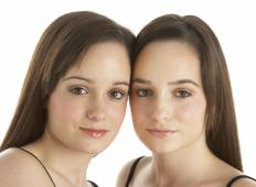 Because identical twins developed from one pair of ova and sperm, they are genetically indetical.