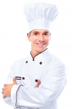 An executive chef creates a restaurant's menu.