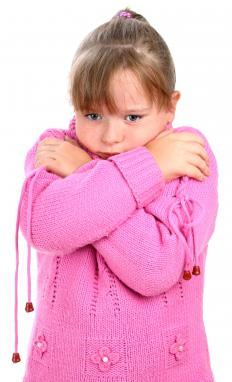 People with scarlet fever often experience fever and chills.