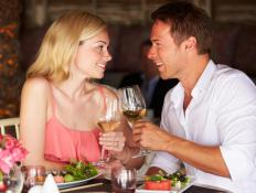 White wines pair best with saltimbocca.