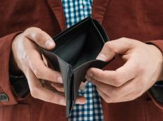 Individuals who have a serious problem with debt may file for bankruptcy.