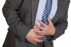 Hepatic flexure syndrome can cause gas pains and abdominal discomfort.