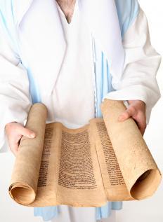 The Dead Sea Scrolls contain Syriac writing.
