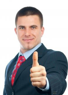 Giving a thumbs up is an example of manual communication.