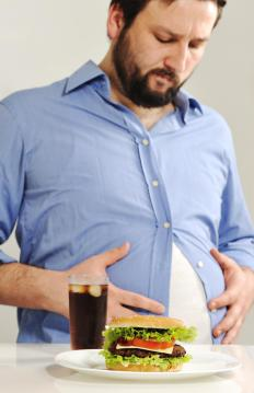 Cortisone medication tends to increase a person's hunger, which may lead to weight gain.