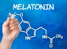 Melatonin structure.