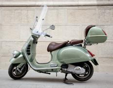 A scooter.