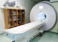 Ceramic magnets are used in MRI machines.