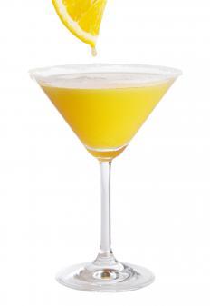 Triple sec is often featured in orange cocktails.