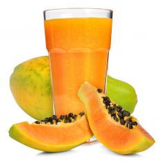 Papaya can be mixed with lemon juice to make a natural melasma treatment.