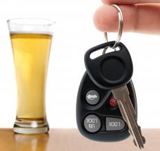 Driving while intoxicated (DWI) or under the influence (DUI) is often dually classified as a public drinking and traffic violation.