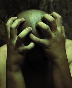 Extreme stress may cause haemolacria.