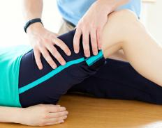 Physical therapy may be helpful when the knee heals.