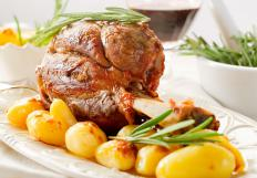 Ham steak is normally a cut off the ham shank.
