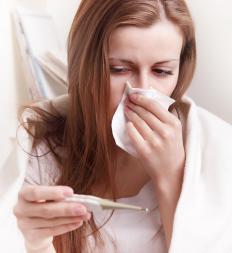 Fever is a symptom of ebola.