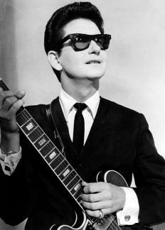 Roy Orbison recorded rockabilly songs at Sun Studios in Memphis.