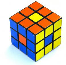 Puzzles and games like the Rubik's Cube test spatial ability.