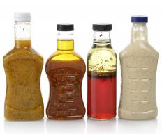 Catalina dressing is a tomato-based salad dressing.