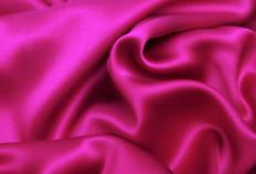 Silk fabric.