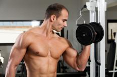 A bodybuilder.