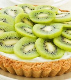 A kiwi tart.