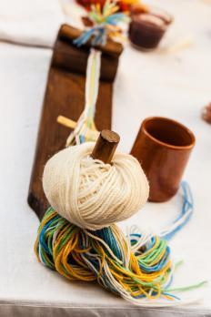 Weaving is the oldest kind of yarn art.