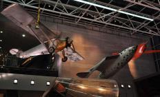 SpaceShipOne was built for Virgin Galactic.