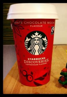 Starbucks serves fair trade coffee.