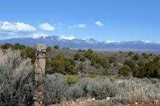 Taos, New Mexico, is a popular tourist destination.