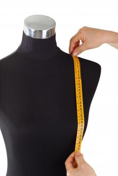 A dressmaker's dummy can help the dressmaker to achieve the optimum fit for each item of clothing.
