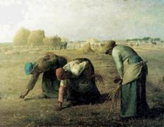 The Gleaners is an example of Realist art.