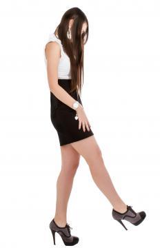 Stilettos can cause discomfort.