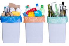 Recycled plastics can be turned into many items such as furniture, motor oil and detergent bottles and pipes and pails.
