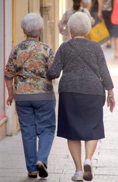 Elderly women develop a type of skin cancer called SGC more than men.