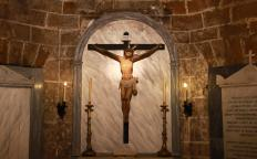 A crypt may store objects of religious value.